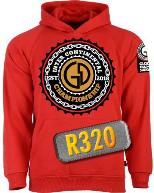 Unisex Inter-Continental Red hoodie - 1024